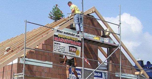 Hausbau Leistungen von MHV Baupartner Massivhaus aus Thüringen