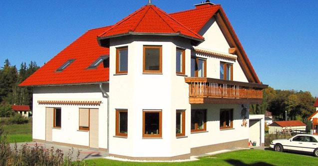Massives Einfamilienhaus Irene von MHV Baupartner Massivhaus