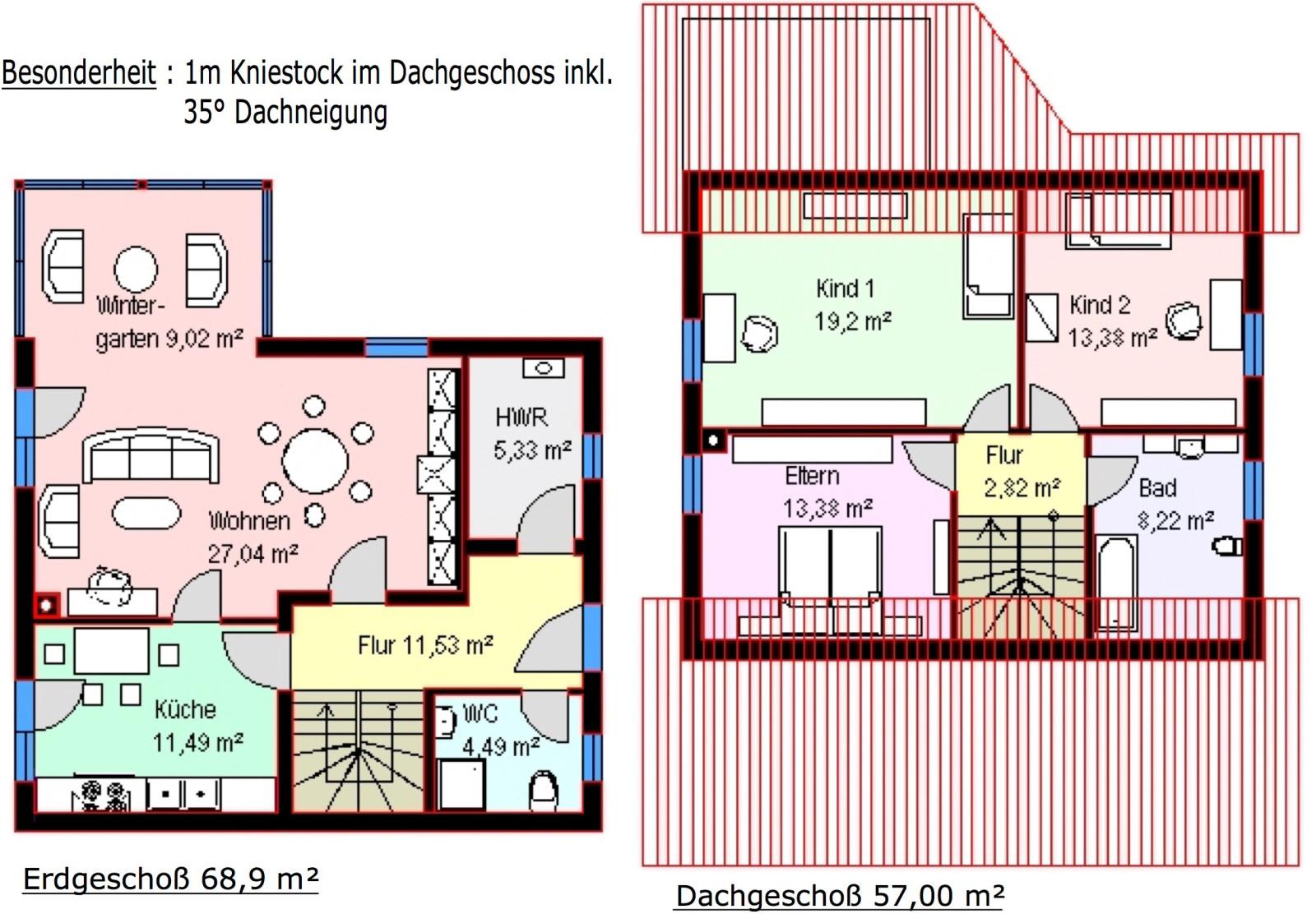 katharina ca 126 m mhv baupartner massivhaus. Black Bedroom Furniture Sets. Home Design Ideas